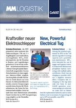 MM-Logistik Cemat Special 2016: Kraftvoller neuer Elektroschlepper - New Powerful Electrical Tug - GSK Presse-Service